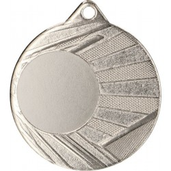 Medal Z Miejscem Na Wklejkę Srebrny Śr 50Mm