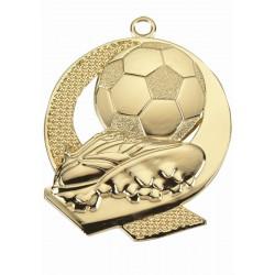 Medal Złoty Tac 053 43X50Mm Piłka Nożna