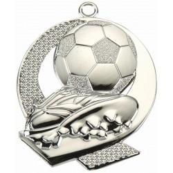 Medal Srebrny  Tac 053 43X50Mm Piłka Nożna