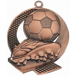 Medal Brązowy Tac 053 43X50Mm Piłka Nożna
