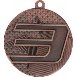 Medal Stalowy Brązowy Trzecie Miejsce