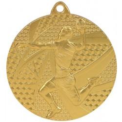 Medal Złoty- Piłka Ręczna - Medal Stalowy