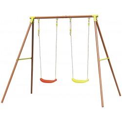 Huśtawka Ogrodowa 2-Osobowa Plac Zabaw Dla Dzieci