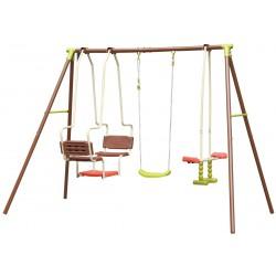 Huśtawka ogrodowa 5 osobowa plac zabaw dla dzieci