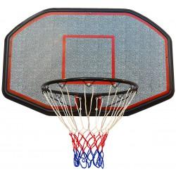 Tablica do koszykówki 109x71cm Enero + obręcz 45cm
