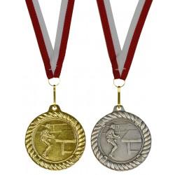 Medal Promo 50 Mm Tenis Stołowy Złoty 268971
