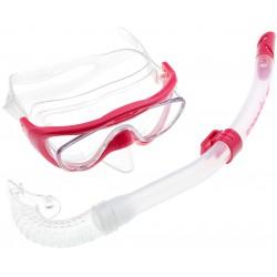 Zestaw Do Nurkowania Speedo Glide Junior Snorkel Różowy