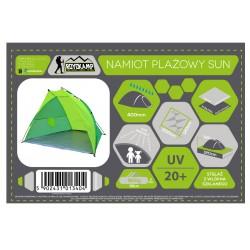 Namiot Osłona Plażowa Sun 200X120X120Cm Jasno Zielona-Zielona Royokamp