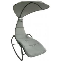 Huśtawka fotel bujany Lizbona szary