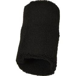 Frotka opaska tenisowa na rękę czarna Athlitech 2szt