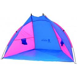 Namiot Osłona Plażowa Sun 200X100X105Cm Niebiesko-Różowa Royokamp