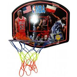 Tablica z obręczą do koszykówki do zawieszenia na drzwi