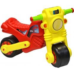 Motorek biegowy jeździk enero cross żółto czerwony