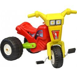 Rowerek trójkołowy enero racing żółto czerwony