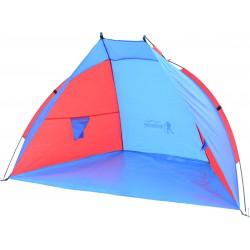 Namiot Osłona Plażowa Sun 200X100X105Cm Niebiesko-Czerwona Royokamp