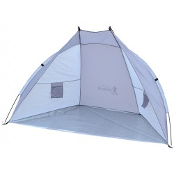 Namiot Osłona Plażowa Sun 200X120X120Cm Szaro-Popielata Royokamp