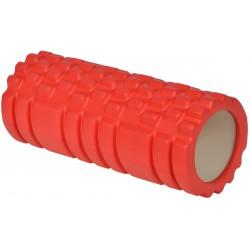Wałek roller do ćwiczeń czerwony 33x14cm Eb Fit