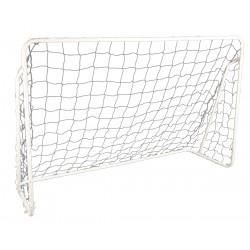Bramka do piłki nożnej Enero z siatką 240x150x90cm fi32mm