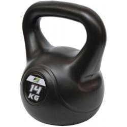 Hantla kompozytowa Kettlebell 14kg odważnik Eb Fit