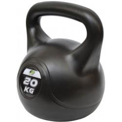 Hantla kompozytowa Kettlebell 20kg odważnik Eb Fit