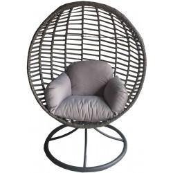 Fotel Obrotowy Cocoon Space 360° Jasny szary