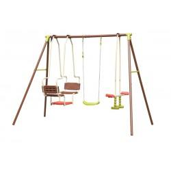 Huśtawka Ogrodowa 3 Częściowa Plac Zabaw Dla Dzieci