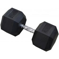 Hantla gumowa Hex 40 kg eb fit