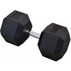 Hantla gumowa Hex 57,5 kg eb fit
