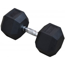 Hantla gumowa Hex 32,5 kg eb fit