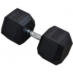 Hantla gumowa Hex 45 kg eb fit