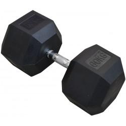 Hantla gumowa Hex 60 kg eb fit