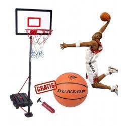 Zestaw regulowany do koszykówki Dunlop 1.65-2.05m 3w1
