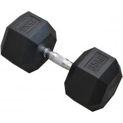 Hantla gumowa Hex 35 kg eb fit