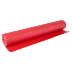 Mata do ćwiczeń fitness jogi 170x60x0,3cm czerwona Eb fit