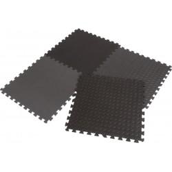 Mata puzzle piankowe Eva 6x60x1,2cm kpl. 4szt Enero czarna