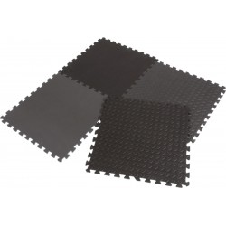 Mata Puzzle Piankowe Eva 60X60 Kpl. 4Szt Enero Czarna