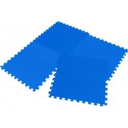 Mata puzzle piankowe Eva 60x60x1,2cm kpl. 4szt Enero niebieska