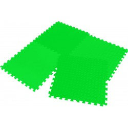 Mata puzzle piankowe Eva 6x60x1,2cm kpl. 4szt Enero zielona