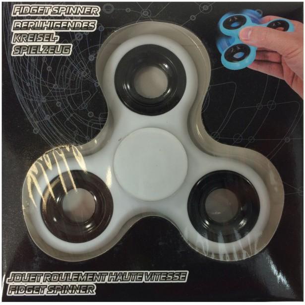 Fidget Spinner 58G White