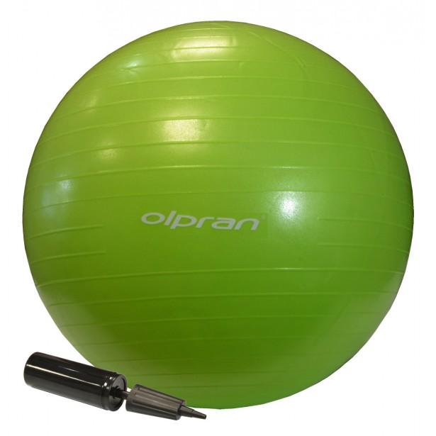 Piłka Gimnastyczna OLPRAN do Ćwiczeń Fitness 55cm z pompką