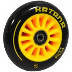 Kółko do hulajnogi Stunt Pb 100mm Plastik Katana 1szt żółte