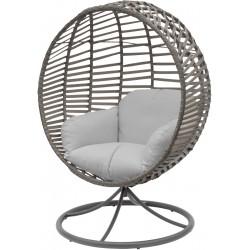 Fotel Obrotowy Cocoon Space 360° Szary/Jasny Szary