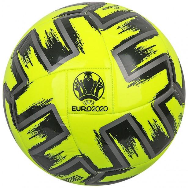 Piłka Nożna ADIDAS UNIFORIA Euro 2020 Club FP9706 R.4 - Żółta