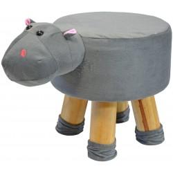Pufa krzesełko taboret hipcio 28x28cm