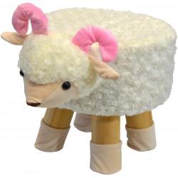 Pufa krzesełko taboret owieczka 28x28cm