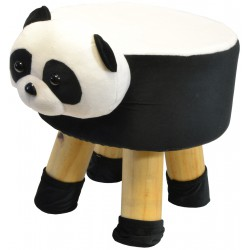 Pufa krzesełko taboret panda 28x28cm