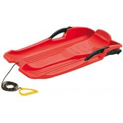 Sanki plastikowe z hamulcami Hornet czerwone