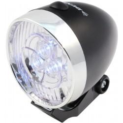 Przednia Lampa Rowerowa 3 LED RETRO DUNLOP