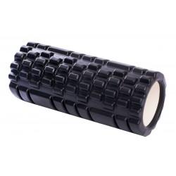Wałek roller do ćwiczeń czarny Eb Fit