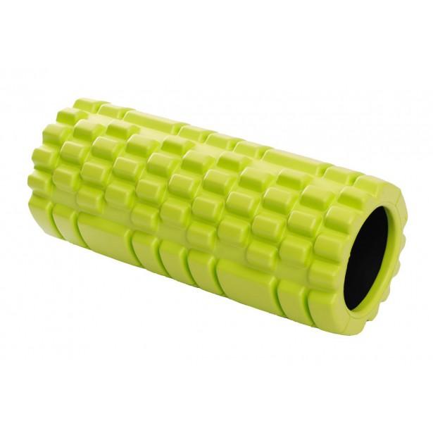 Wałek roller do ćwiczeń zielony 33x14cm Eb Fit